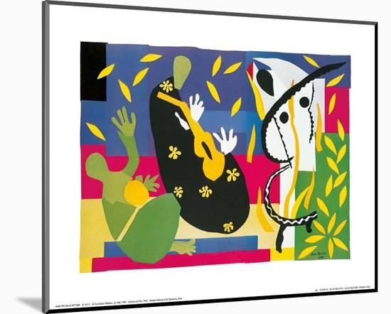 King's Sadness, c.1952-Henri Matisse-Mounted Art Print
