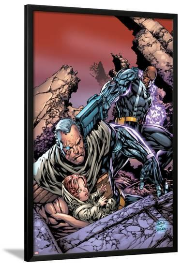 King-Size Cable Spectacular No.1 Cover: Cable and Bishop-Ken Lashley-Lamina Framed Poster