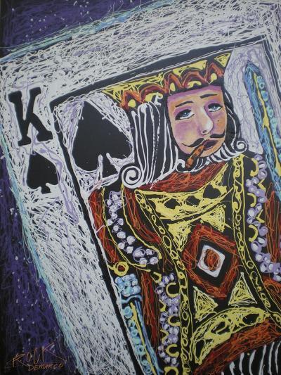 King Spades 001-Rock Demarco-Giclee Print