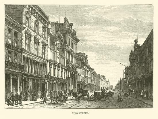 King Street--Giclee Print