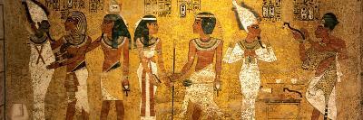 King Tut Tomb Wall, Egypt-Kenneth Garrett-Photographic Print