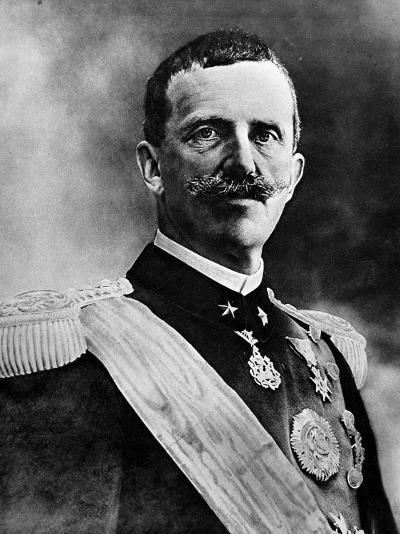 King Victor Emmanuel III--Photographic Print