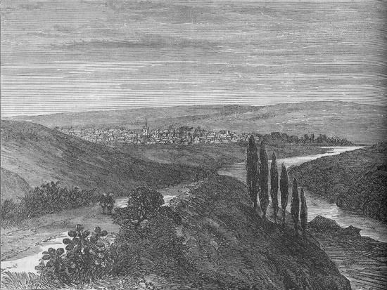 'King William's Town, from near the Aqueduct', c1880-Unknown-Giclee Print