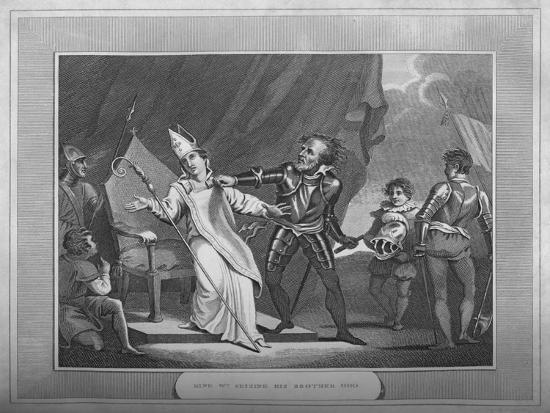 'King William Seizing His Brother Odo', 1838-Unknown-Giclee Print