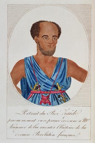 King Zaide, Senegal, Frontispiece of 'Naufrage De La Frégate La Méduse'--Giclee Print