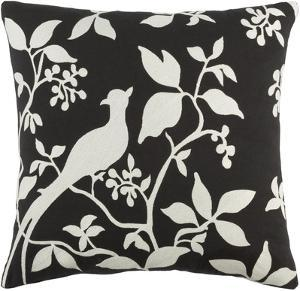 Kingdom 18 x 18 Pillow Cover - Black