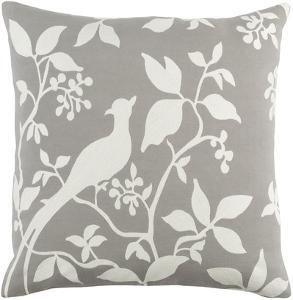 Kingdom 18 x 18 Pillow Cover - Gray