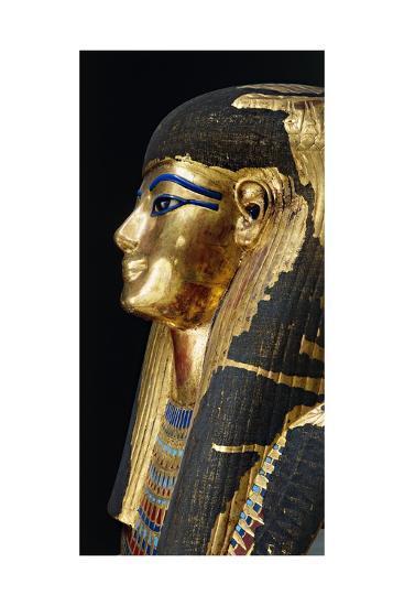 Kingdom of Amenhotep Iii. Burial Mask of Tuya Made of Plastered Cloth--Giclee Print