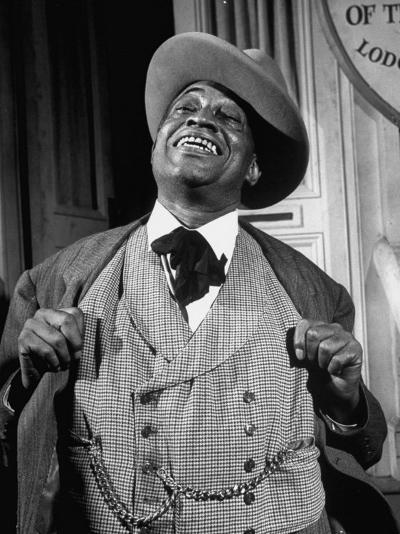"""Kingfish Tim Moore, Putting on the Charm in the TV Series """"Amos 'N' Andy""""-Loomis Dean-Premium Photographic Print"""