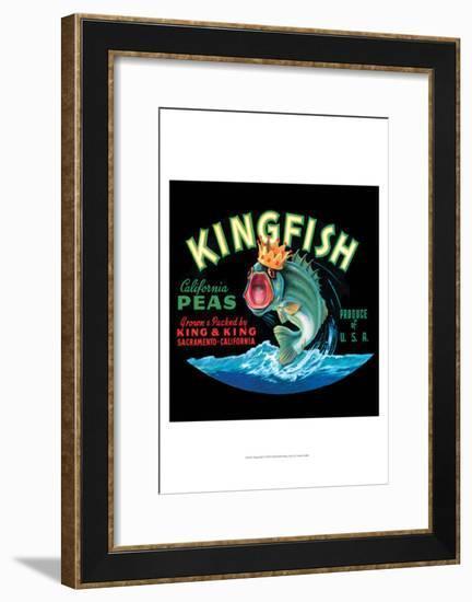 Kingfish--Framed Art Print