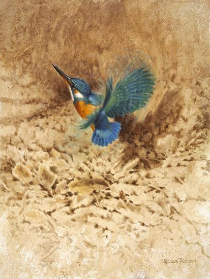 Kingfisher Study-Michael Jackson-Giclee Print