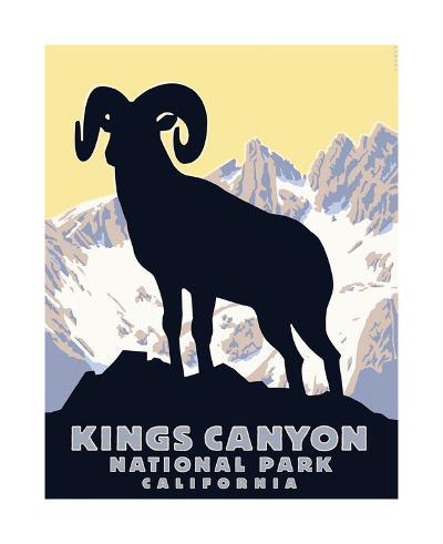 Kings Canyon-Steve Forney-Giclee Print