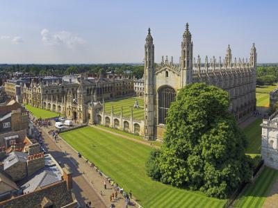 Kings College and Chapel, Cambridge, Cambridgeshire, England, United Kingdom, Europe-Neale Clarke-Photographic Print