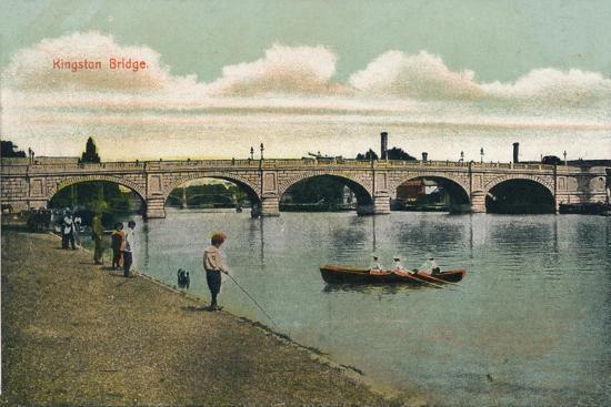 'Kingston Bridge', 1908-Unknown-Giclee Print