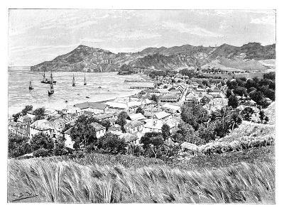 Kingston, St Vincent Island, C1890--Giclee Print