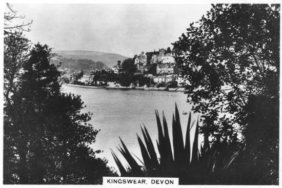 Kingswear, Devon, 1936--Giclee Print