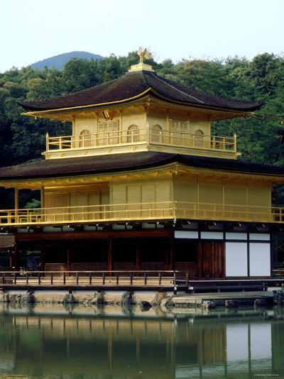 Kinkaku (Golden Pavillion) in the Garden of Rokuon-Ji Temple, Kyoto, Japan--Photographic Print