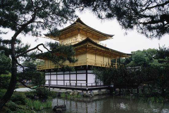 Kinkakuji or Temple of the Golden Pavilion Is Reliquary of Rokuonji Temple--Giclee Print