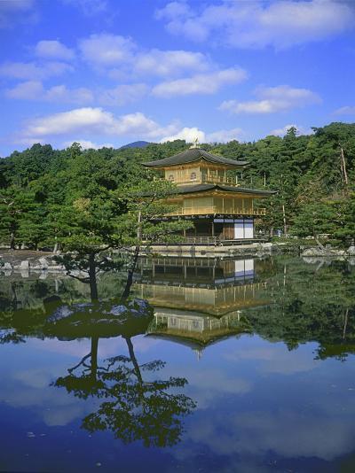 Kinkakuji Temple, Kyoto, Japan--Photographic Print