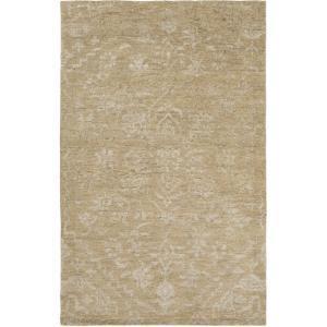 "Kinnara Area Rug - Beige/Ivory 5' x 7'6"""
