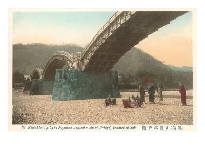 Kintai Bridge, Japan--Art Print