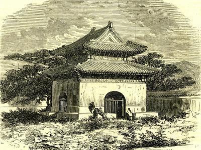 Kiosk at Beijing, 1866, China--Giclee Print