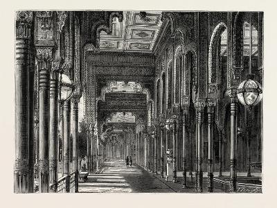 Kiosk in the Chateau of Ghezeereh, Egypt, 1879--Giclee Print