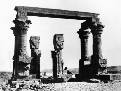 Kiosk of Qertassi, Nubia, Egypt, 1878-Felix Bonfils-Giclee Print