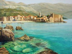 Bay Near Old Budva by kirilstanchev