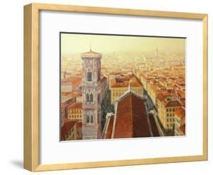 Flight Over Florence by kirilstanchev