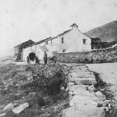 Kirkstone Pass Inn, the Lake District, Westmorland, Late 19th or Early 20th Century-G Waters-Giclee Print