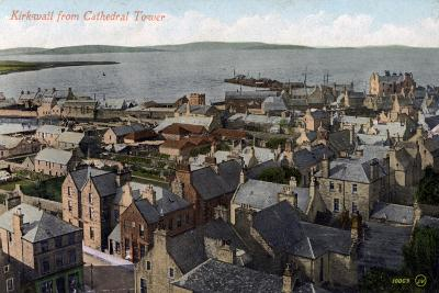 Kirkwall from the Cathedral Tower, Orkney, Scotland, 20th Century--Giclee Print