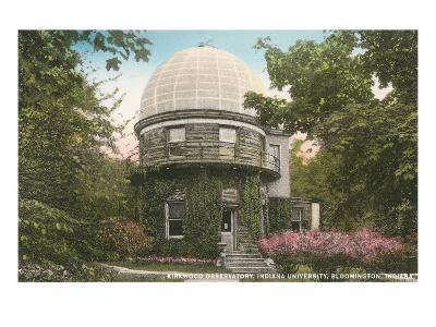 Kirkwood Observatory, Indiana University--Art Print