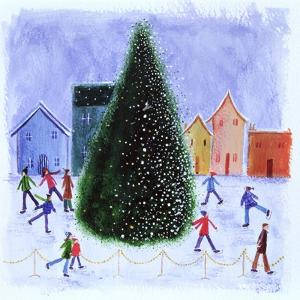 Skating around the Tree, 2003 by Kirsty Walker