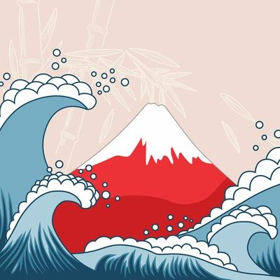 Japan Style Illustration