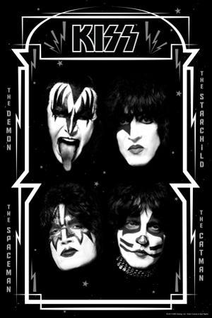 KISS - Bolts with Stars