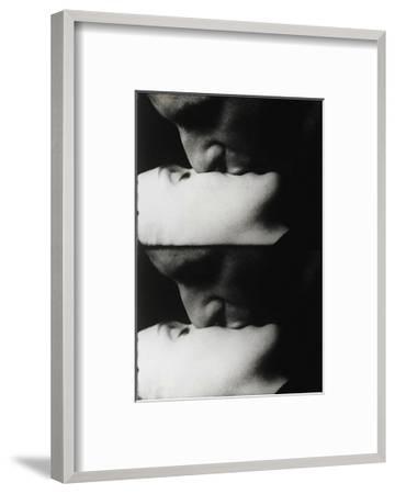 Kiss, c.1963-Andy Warhol-Framed Art Print