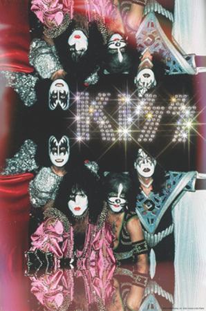 KISS - Glam with Diamonds