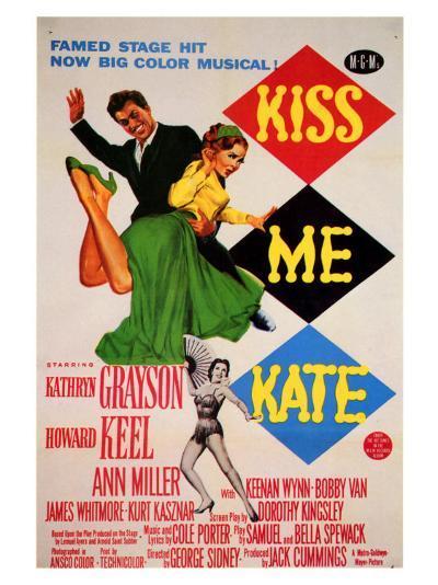 Kiss Me Kate, 1953--Art Print