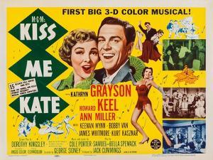 Kiss Me Kate, Top from Left: Kathryn Grayson, Howard Keel; Below: Ann Miller, 1953