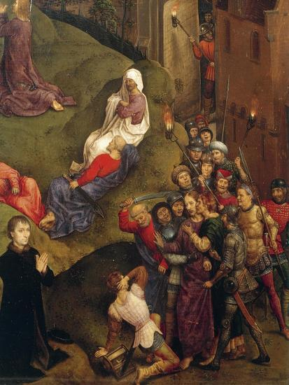 Kiss of Judas, Detail from Passion of Christ, 1471-Hans Memling-Giclee Print
