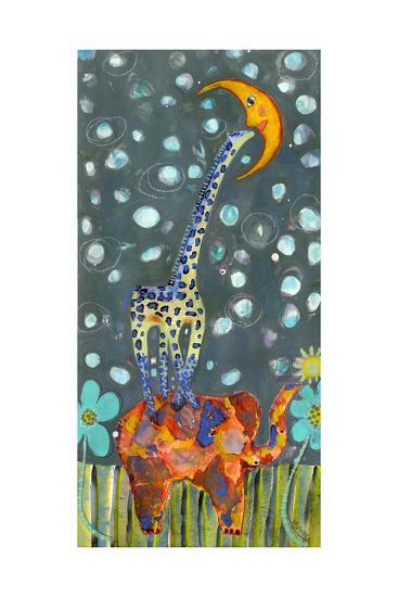 Kiss the Moon-Wyanne-Giclee Print