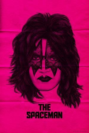 KISS - The Spaceman (Pink)--Premium Giclee Print