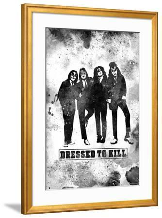 """KISS Watercolor - """"Dressed to Kill"""""""