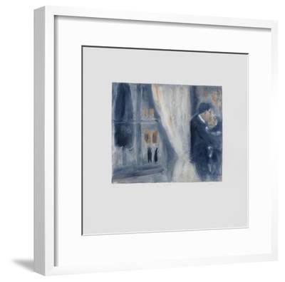 Kiss-Lou G. (Lupita Gorodine)-Framed Limited Edition