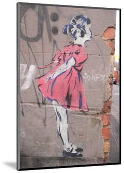 Kiss-Banksy-Mounted Giclee Print