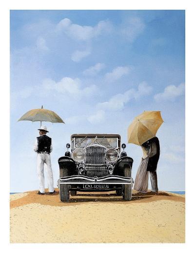 Kisses In The Desert-Guido Borelli-Art Print