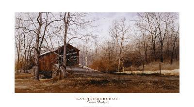Kissin' Bridge-Ray Hendershot-Art Print