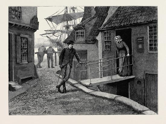 Kit, a Memory; Kit and the Postmistress--Giclee Print