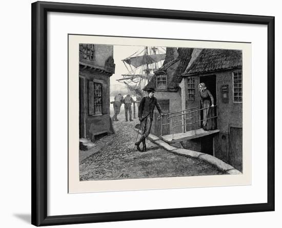 Kit, a Memory; Kit and the Postmistress--Framed Giclee Print